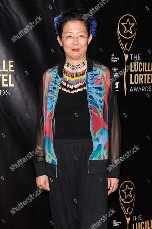 Stock Picture of Anita Yavich attends The 2016 Lucille Lortel Awards for Outstanding Achievement Off-Broadway at the NYU Skirball Center, in New York