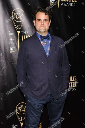 Greg Hildreth attends The 2016 Lucille Lortel Awards for Outstanding Achievement Off-Broadway at the NYU Skirball Center, in New York