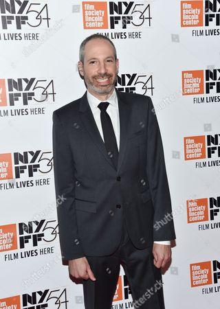 """Stock Image of Screenwriter Noah Oppenheim attends a special screening of """"Jackie"""", during the 54th New York Film Festival, at Alice Tully Hall, in New York"""