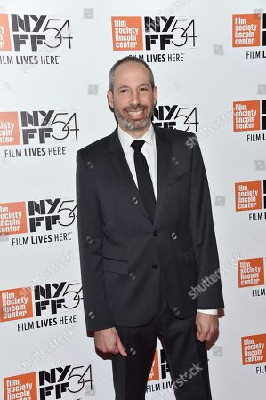 """Screenwriter Noah Oppenheim attends a special screening of """"Jackie"""", during the 54th New York Film Festival, at Alice Tully Hall, in New York"""