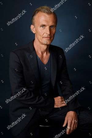 """Stock Photo of Richard Sammel, a cast member in the FX series """"The Strain,"""" poses for a portrait during the 2016 Television Critics Association Summer Press Tour at the Beverly Hilton, in Beverly Hills, Calif"""