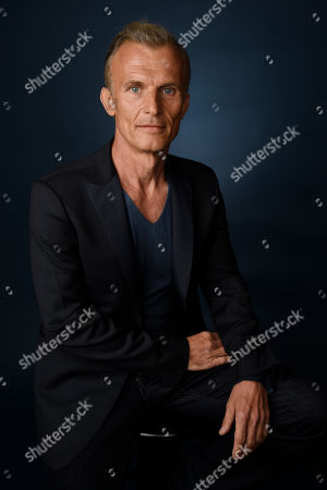 """Stock Image of Richard Sammel, a cast member in the FX series """"The Strain,"""" poses for a portrait during the 2016 Television Critics Association Summer Press Tour at the Beverly Hilton, in Beverly Hills, Calif"""