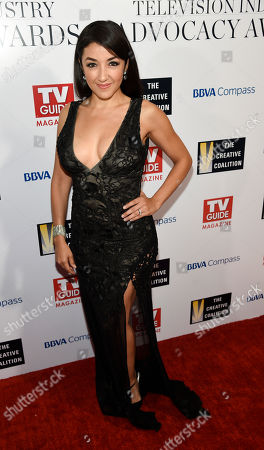 Actress Yvette Yates poses at the 2016 Television Industry Advocacy Awards at the Sunset Tower Hotel, in West Hollywood, Calif