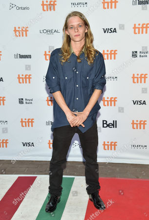 """Isaiah Stone attends the """"American Honey"""" premiere on day 4 of the Toronto International Film Festival at Ryerson Theatre, in Toronto"""