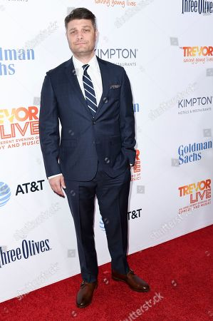 Jay R. Ferguson attends 2016 TrevorLIVE LA at the Beverly Hilton Hotel, in Beverly Hills, Calif