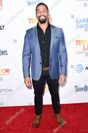 Fred Rosser attends 2016 TrevorLIVE LA at the Beverly Hilton Hotel, in Beverly Hills, Calif