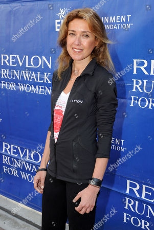 Stock Photo of CMO of Revlon Julia Goldin arrives at the 20th Annual EIF Revlon Run/Walk For Women held at Los Angeles Memorial Coliseum at Exposition Park on in Los Angeles, California