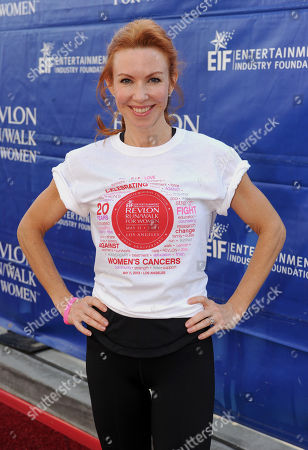 Challen Cates arrives at the 20th Annual EIF Revlon Run/Walk For Women held at Los Angeles Memorial Coliseum at Exposition Park on in Los Angeles, California