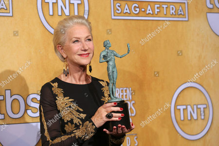 Editorial photo of 20th Annual SAG Awards - Press Room, Los Angeles, USA - 18 Jan 2014