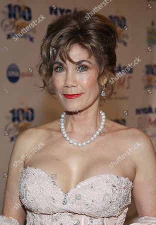 Barbi Benton arrives at the 24th Night of 100 Stars Oscars Viewing Gala at The Beverly Hills Hotel on in Beverly Hills, Calif