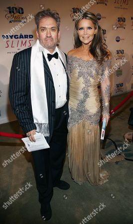 Steven C. Barber and Tamara Henry arrive at the 24th Night of 100 Stars Oscars Viewing Gala at The Beverly Hills Hotel on in Beverly Hills, Calif