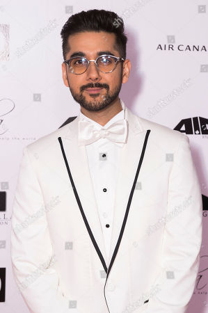 Stock Image of Vinay Virmani arrives at the 2nd Annual AMBI Gala at The Ritz-Carlton Hotel, in Toronto