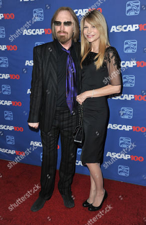 Stock Image of Tom Petty, left, and Dana York arrive at the 31st Annual ASCAP Pop Music Awards at the Loews Hollywood Hotel, in Los Angeles