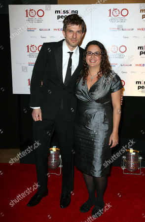 Sally El Hosaini and guest seen at the 33rd London Critics Circle Film Awards at the May Fair Hotel, in London