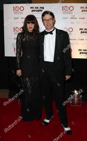 Charlie Creed-Miles and guest seen at the 33rd London Critics Circle Film Awards at the May Fair Hotel, in London