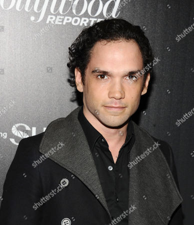Reece Ritchie attends The 35 Most Powerful People in Media hosted by The Hollywood Reporter at The Four Seasons Restaurant, in New York