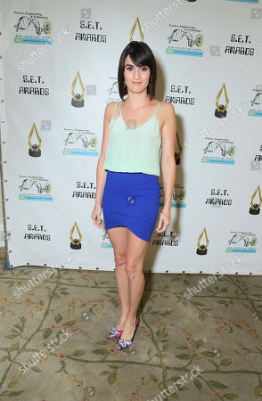 Alison Haislip at the 3rd Annual Set Awards ceremony at The Beverly Hills Hotel on in Beverly Hills, Calif