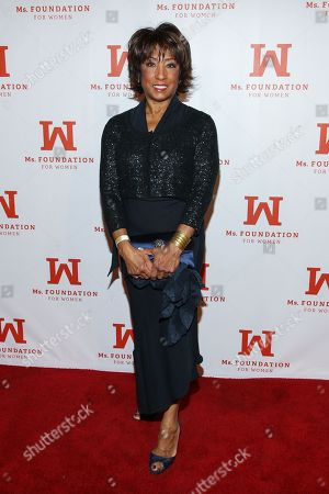 Carolyn Folks arrives at the 40th anniversary of Ms. Foundation for Women honoring founder Gloria Steinem on in Beverly Hills, Calif