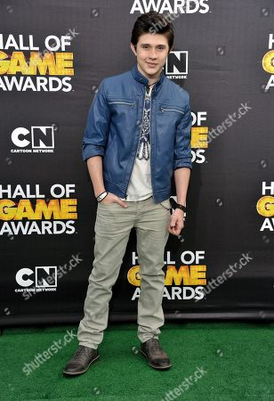 Mateus Ward arrives at the 4th Annual Hall of Game Awards on Saturday, Feb, 15, 2014 in Santa Monica, Calif