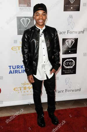 Josh Levi arrives at the 5th Annual Face Forward Gala held at the the Millennium Biltmore Hotelon Saturday, Sept.13, 2014, in Los Angeles