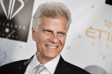 Mark Spitz arrives at the 5th Annual Face Forward Gala held at the Millennium Biltmore Hotel on Saturday, Sept.13, 2014, in Los Angeles