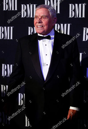 Tom T. Hall arrives at the 60th Annual BMI Country Awards, in Nashville, Tenn