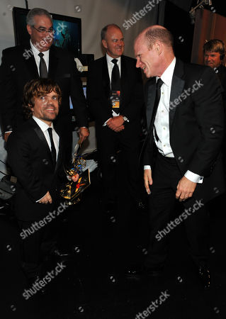 Editorial picture of 63rd Primetime Emmy Awards - Backstage & Audience, Los Angeles, USA - 18 Sep 2011
