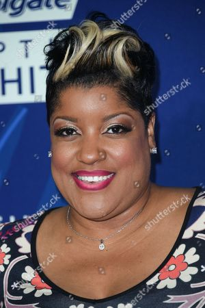 Anita Wilson arrives at the 6th Annual ESSENCE Black Woman In Music held at Avalon, in Los Angeles