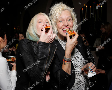 Stock Photo of Leesa Amore and Mary Ellen Mark attend the 7Hollywood Fantasy Issue Launch Celebration on in Los Angeles