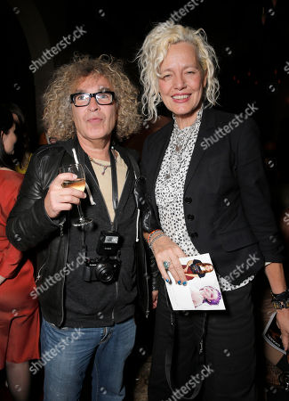 Stock Picture of Brad Elterman and Mary Ellen Mark attend the 7Hollywood Fantasy Issue Launch Celebration on in Los Angeles