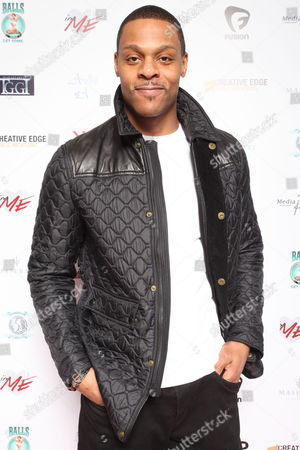 Visanthe Shiancoe, formerly of the Tennessee Titans, arrives at the 7th Annual Music Meets Couture fashion show presented by Creative Edge PR on Thursday, January, 30, 2014 at Maserati of Manhattan in New York