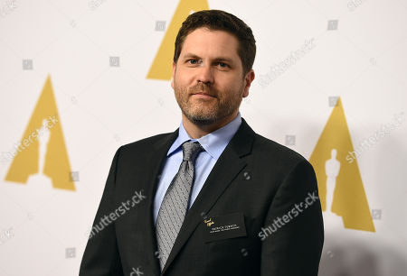 Stock Photo of Patrick Tubach arrives at the 88th Academy Awards Nominees Luncheon at The Beverly Hilton hotel, in Beverly Hills, Calif