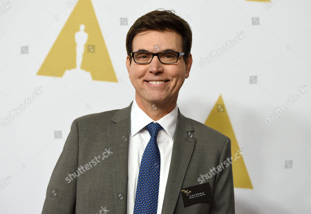 Stock Photo of Alan Wenkus arrives at the 88th Academy Awards Nominees Luncheon at The Beverly Hilton hotel, in Beverly Hills, Calif