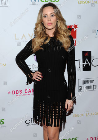 Actress Kaki West attends A Night of New York Class gala benefit to help ban New York City carriage horses on in New York