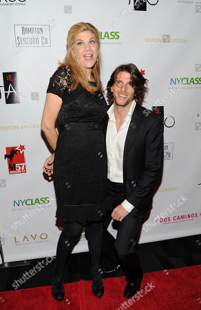 Actress Kristen Johnston and guest attend A Night of New York Class gala benefit to help ban New York City carriage horses on in New York