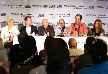 Editorial image of AFM 2014 - Day 5, Santa Monica, USA - 9 Nov 2014