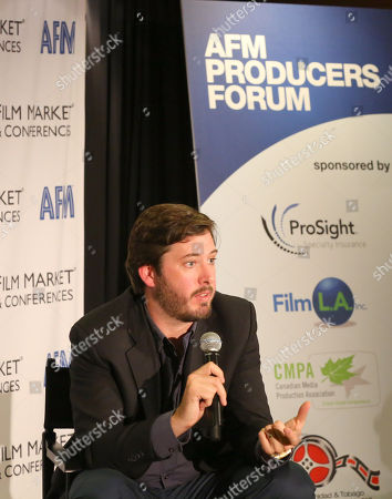 Ben Browning, Co-President, Production & Acquisitions, FilmNation is seen at the 2014 American Film Market (AFM) at the Loews Santa Monica Hotel on in Santa Monica, Calif