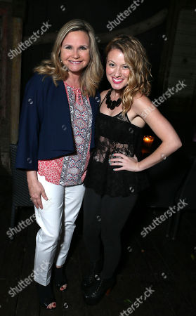 Dr. Robin Ganzert and Christie Brooke at the American Humane Association cocktail party hosted by Lisa Vanderpump and Gigi, on Wednesdayt, in West Hollywood, CA