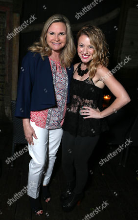 Stock Photo of Dr. Robin Ganzert and Christie Brooke at the American Humane Association cocktail party hosted by Lisa Vanderpump and Gigi, on Wednesdayt, in West Hollywood, CA