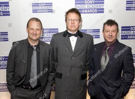 Mark Radcliffe, Simon Mayo and Stuart Maconie