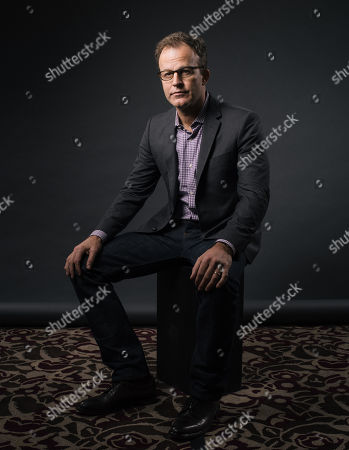 """Writer/director Thomas McCarthy poses for a portrait during press day for """"Spotlight"""" at The Four Seasons, in Los Angeles. The movie opens in U.S. theaters on Friday, Nov. 6, 2015"""