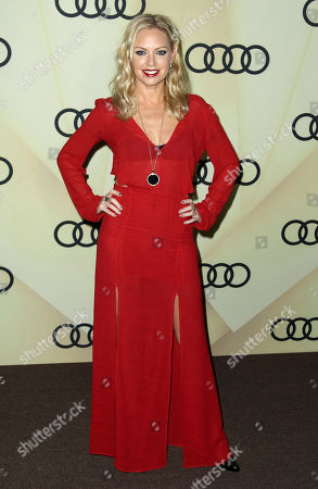 Barret Swatek attends the Audi Golden Globe week kick off party at Cecconi's, in Los Angeles
