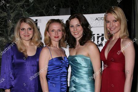 Annaleigh Ashford, Catherine Brunell, Mara Davi and Meredith Patterson