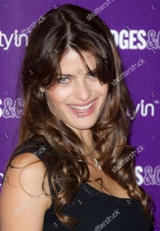 Brazilian model Isabelli Fontana launches the new range of Beauty products at Selfridges department store on in London, UK