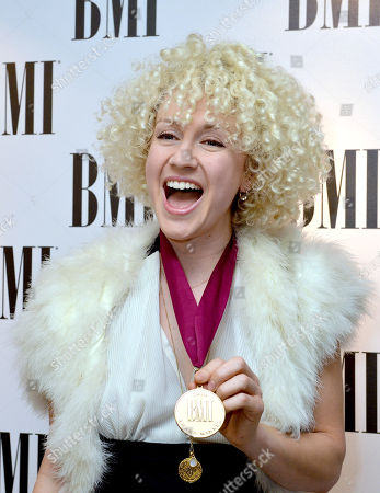 Fiona Bevan at the BMI awards in London