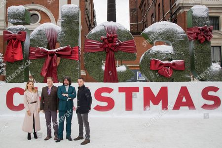 Editorial photo of Britain Ideal Home Show Christmas Launch, London, United Kingdom - 25 Nov 2015
