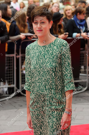 Tracey Thorn arrives for the World Premiere of The Falling at a central London cinema, during the BFI London Film Festival, London