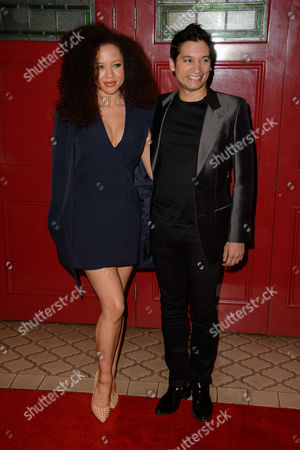 Natalie Gumede poses for photographers upon arrival for the Motown Musical, London