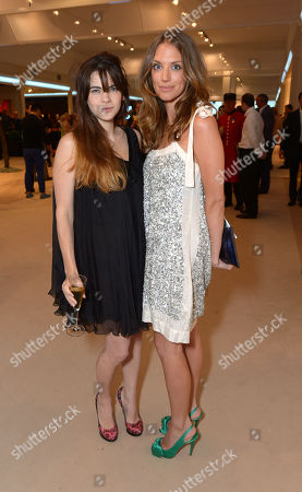 Martha Freud is seen at the The Masterpiece Marie Curie Party in London on