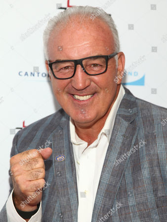 Gerry Cooney attends Cantor Charity Day 2015 hosted by Cantor Fitzgerald and BGC Partners, in New York